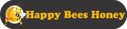 Happy Bees Honey Logo