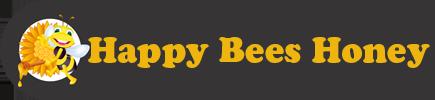 Happy Bees Honey Logo